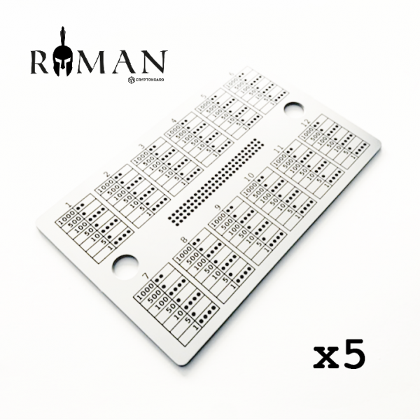 Roman Hoard Bundle x5 Crypto Hoard